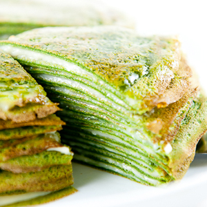 Green Tea Mille-Crepes