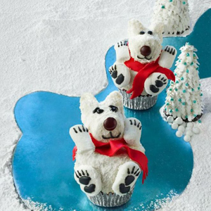 Polar Bear Cupcakes recipe