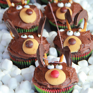Chocolate Reindeer Cupcakes recipe
