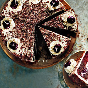 Paul Hollywood Black Forest Gateau recipe