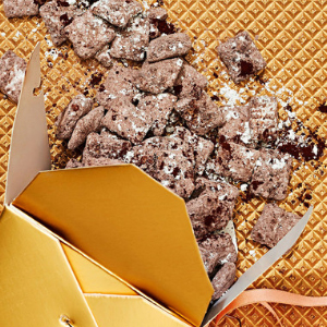 Hazelnut Puppy Chow recipe