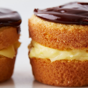 Individual Boston Cream Pies recipe