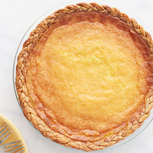 Martha's Buttermilk Pie