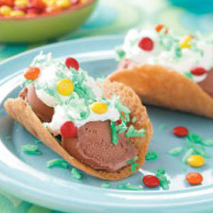 April Fool's FAVORITE ICE CREAM TACOS RECIPE