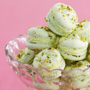 Pistachio French Macarons