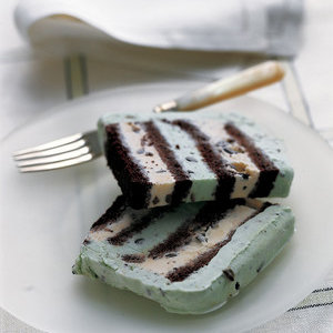 Mint Chocolate-Chip Cake