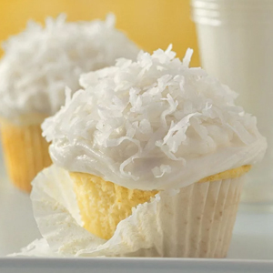 Basic White coconut Cupcakes recipe